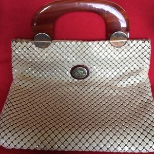 Whiting & Davis chainmail purse